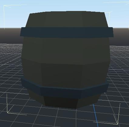 Drab barrel